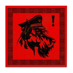 Scottish Terrier Revolution Icon Tile Coaster
