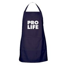 Pro-Life Apron (dark)