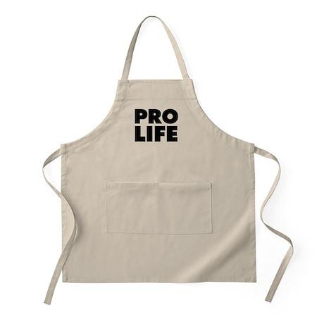 Pro-Life Apron