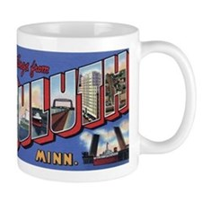 Greetings from Duluth Small Mugs
