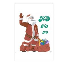 Ho Ho Ho! Postcards (Package of 8)