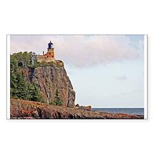 Split Rock Lighthouse Rectangle Decal