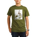 Australian Saddleback Pigeon Organic Men's T-Shirt
