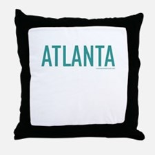 Atlanta - Throw Pillow