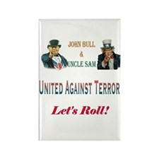 United Against Terror Rectangle Magnet