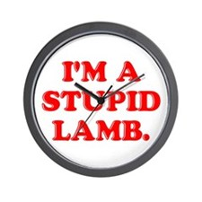 Stupid Lamb Wall Clock