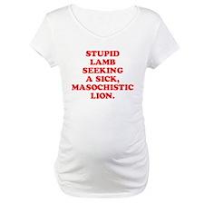 Lamb Seeks Lion Shirt