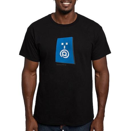 screaming Men's Fitted T-Shirt (dark)
