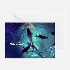 Circle Of Fishes Greeting Card