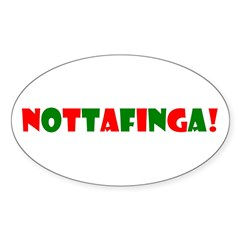 Nottafinga Oval Sticker (10 pk)