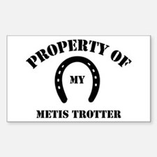 My Metis Trotter Rectangle Decal