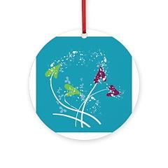 Floral Mindpiece Ornament (Round)