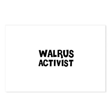 WALRUS ACTIVIST Postcards (Package of 8)