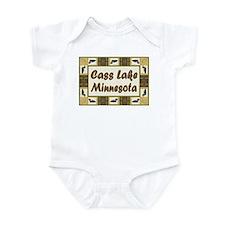 Cass Lake Loon Infant Bodysuit
