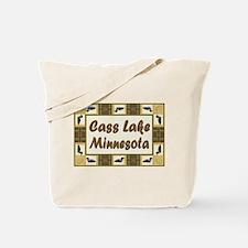 Cass Lake Loon Tote Bag