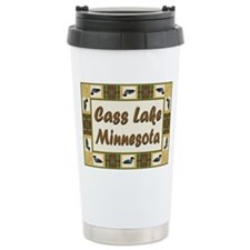 Cass Lake Loon Travel Mug