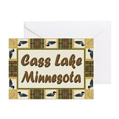 Cass Lake Loon Greeting Cards (Pk of 20)