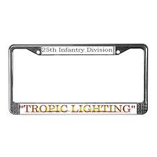 "25 Inf Div ""Tropic lighting"" License Pla"