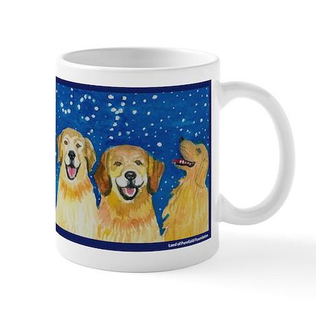Christmas Joy Golden Retriever Mug