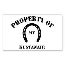 My Kustanair Rectangle Decal