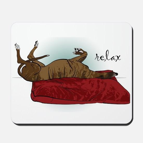 Relax Greyhound Mousepad