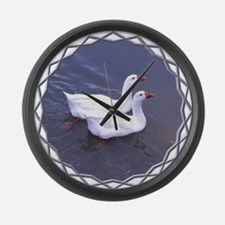 Togetherness Large Wall Clock