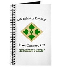 """4th inf div """"Steadfast and lo Journal"""