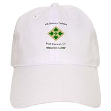 "4th inf div ""Steadfast and lo Baseball Cap"