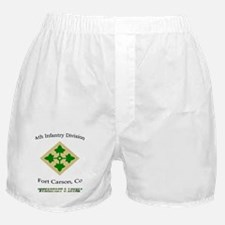 """4th inf div """"Steadfast and lo Boxer Shorts"""