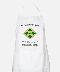 """4th inf div """"Steadfast and lo Apron"""