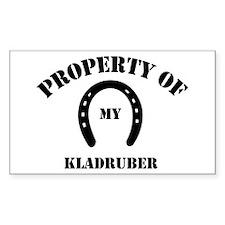 My Kladruber Rectangle Decal