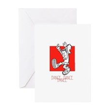 Dance Dance Dance Greeting Card