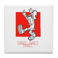 Dance Dance Dance Tile Coaster