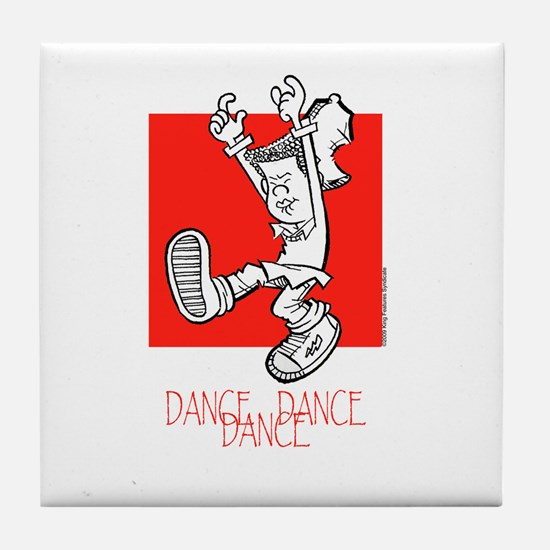 Dance Dance Dance Tile Coaster
