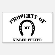 My Kisber Felver Rectangle Decal