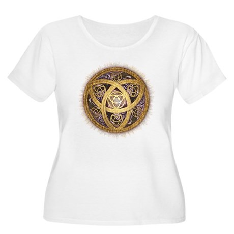 Celtic Sun Women's Plus Size Scoop Neck T-Shirt
