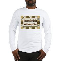 Horseshoe Lake Loon Long Sleeve T-Shirt