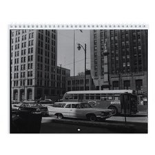 Vintage Downtown Youngstown Wall Calendar