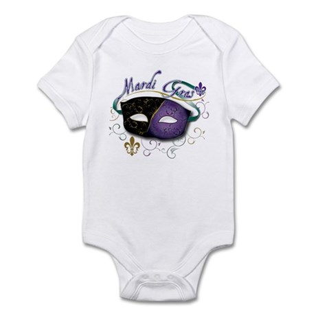 Mardi Gras 2 Infant Bodysuit