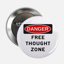 "Free Thought 2.25"" Button"