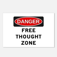 Free Thought Postcards (Package of 8)