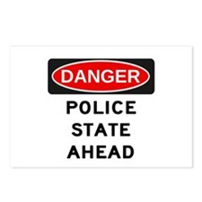 Police State Postcards (Package of 8)