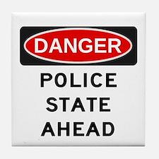 Police State Tile Coaster