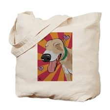 Love Greyhound Tote Bag