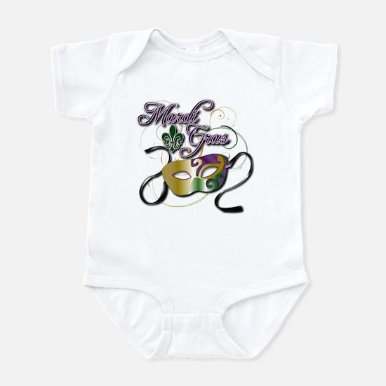 Mardi Gras 3 Infant Bodysuit