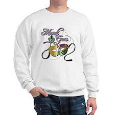 Mardi Gras 3 Sweatshirt