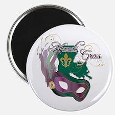 "Mardi Gras 4 2.25"" Magnet (100 pack)"