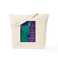 Colorful Greyhound Tote Bag