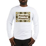 Menahga Loon Long Sleeve T-Shirt