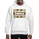 Menahga Loon Hooded Sweatshirt